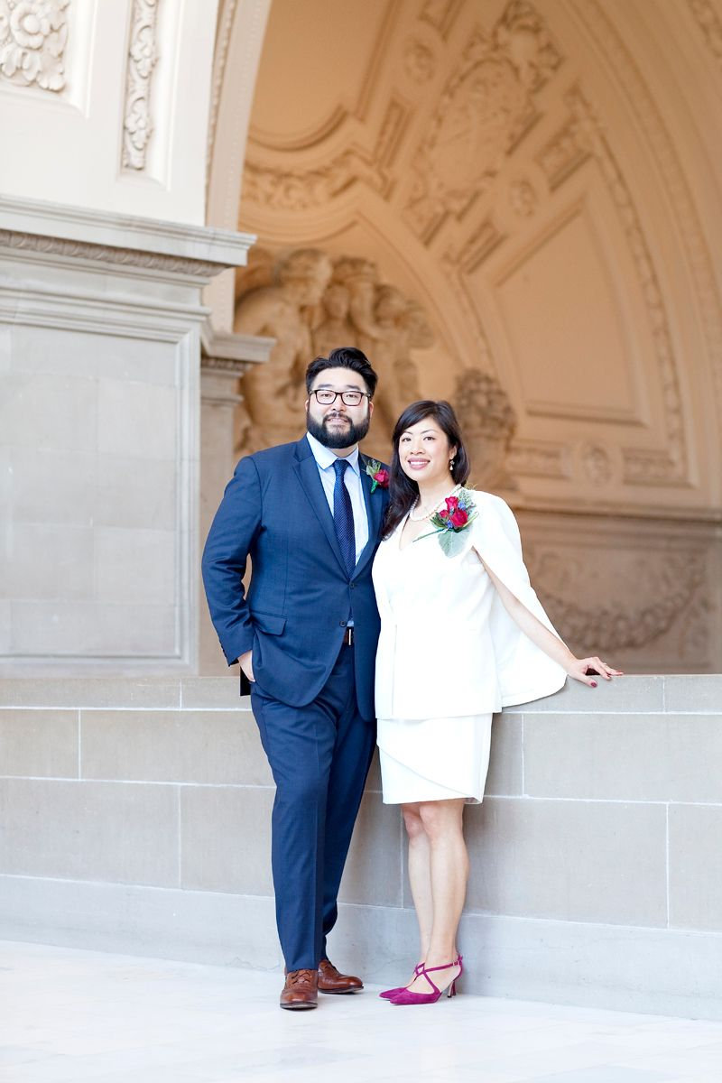 Modern San Francisco City Hall Wedding
