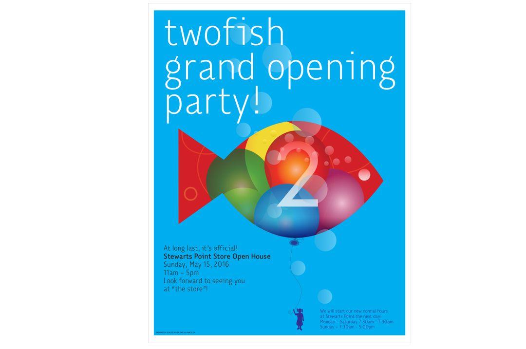 TwoFish Baking Grand Opening
