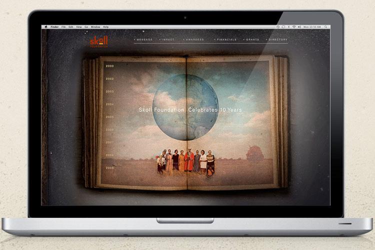 Skoll Foundation 10 Years Website