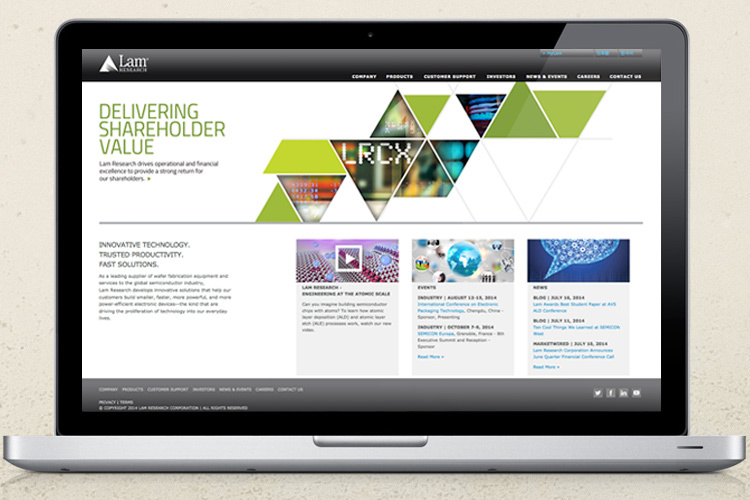 Client: Lam Research Corporation