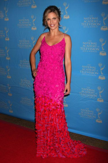 arriving at the 38th Annual Daytime Creative Arts & Entertainment Emmy Awards