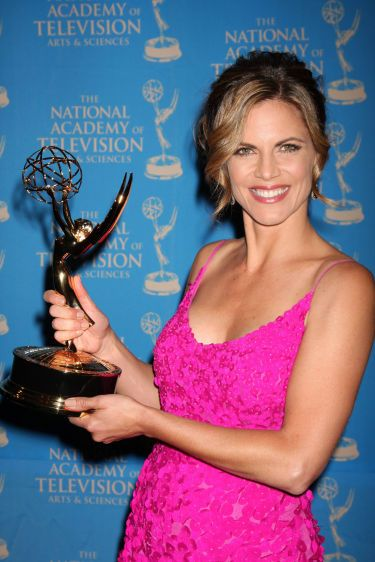 in the Press Area at the 38th Annual Daytime Creative Arts & Entertainment Emmy Awards