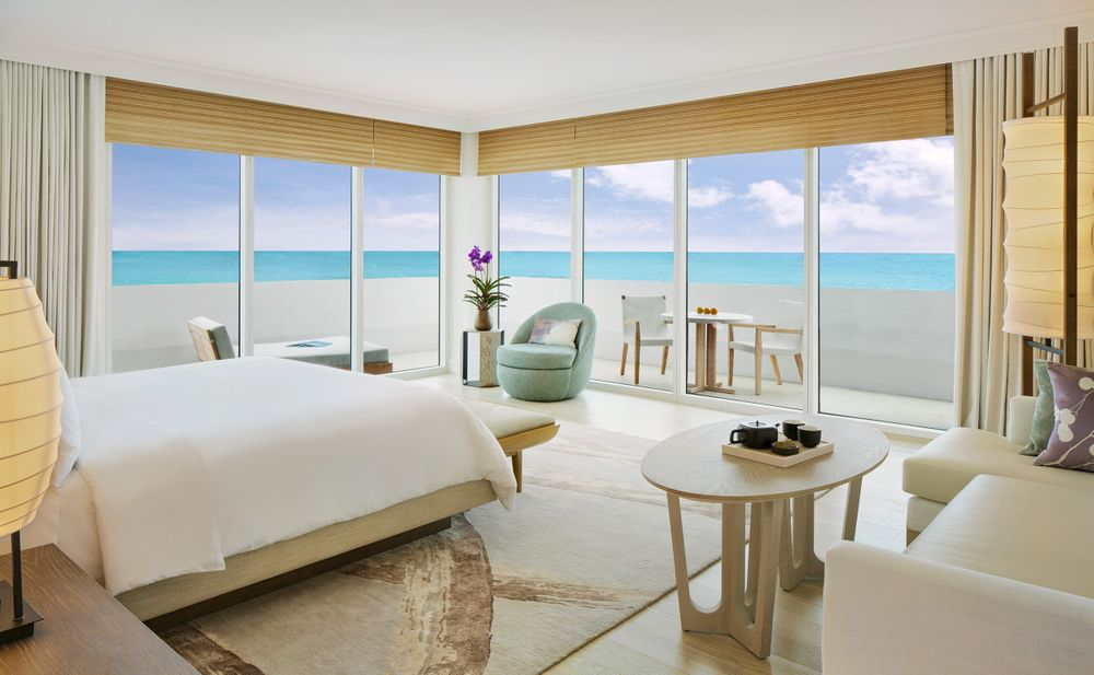Nobu Miami Corner Suite BR