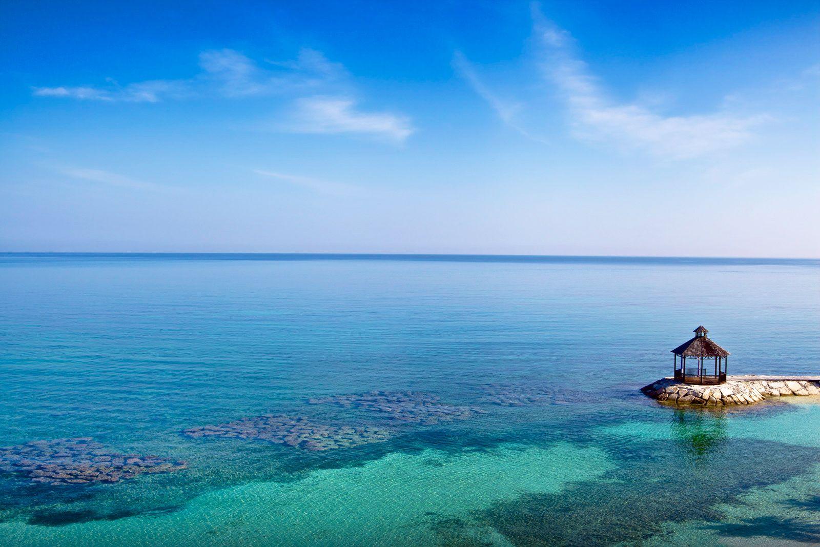 Gazebo Ocean Jamaica