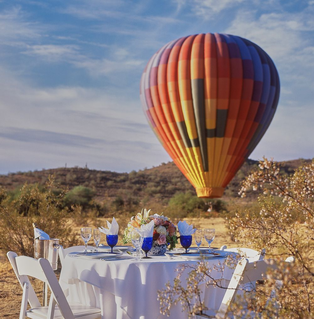 Dining Hot Air Ballon
