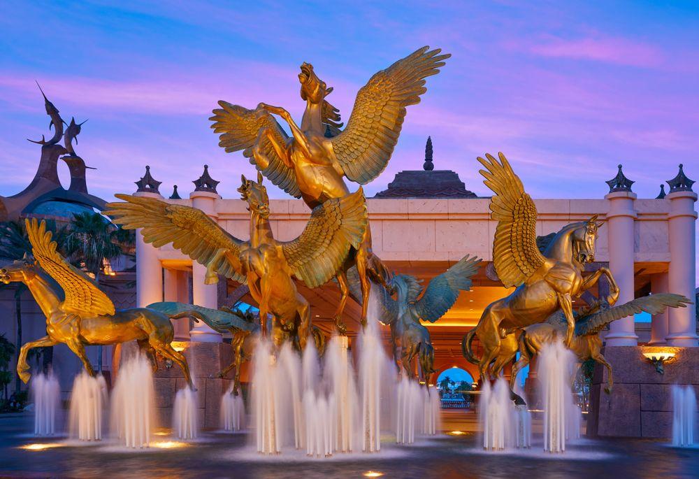 Atlantis Pegasus Fountain