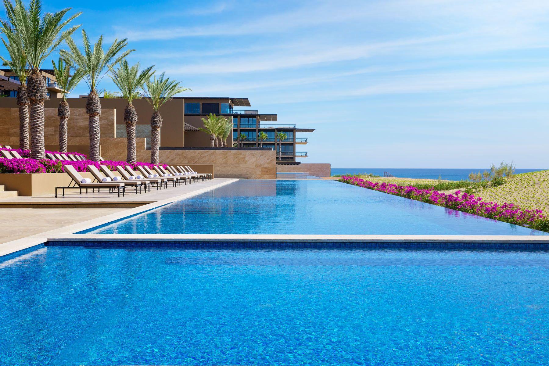 JW Marriott  Los Cabos wide view of pool