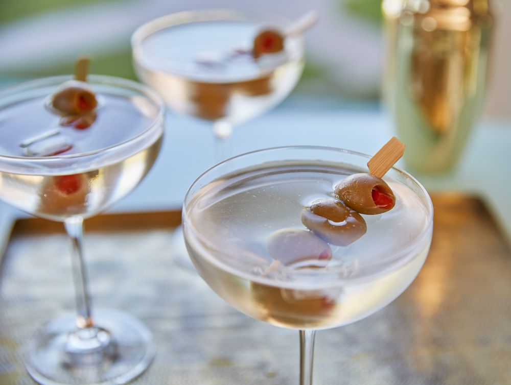 Martinis _Olives