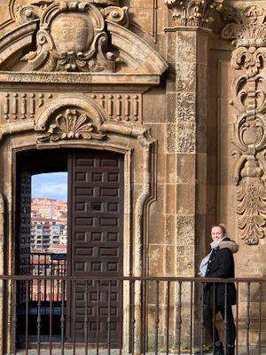 Salamanca Arch. Detail