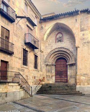 Salamanca Church Entrance