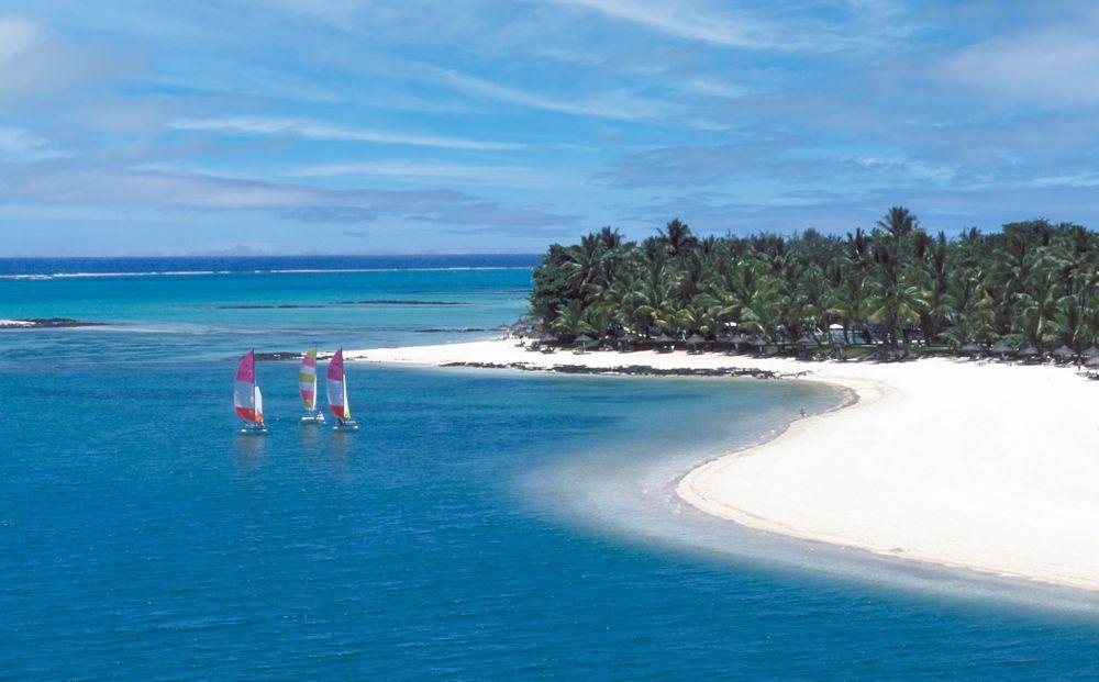 Mauritius Beach Sailboats