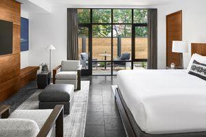 Bardessono Villa 603 Bedroom