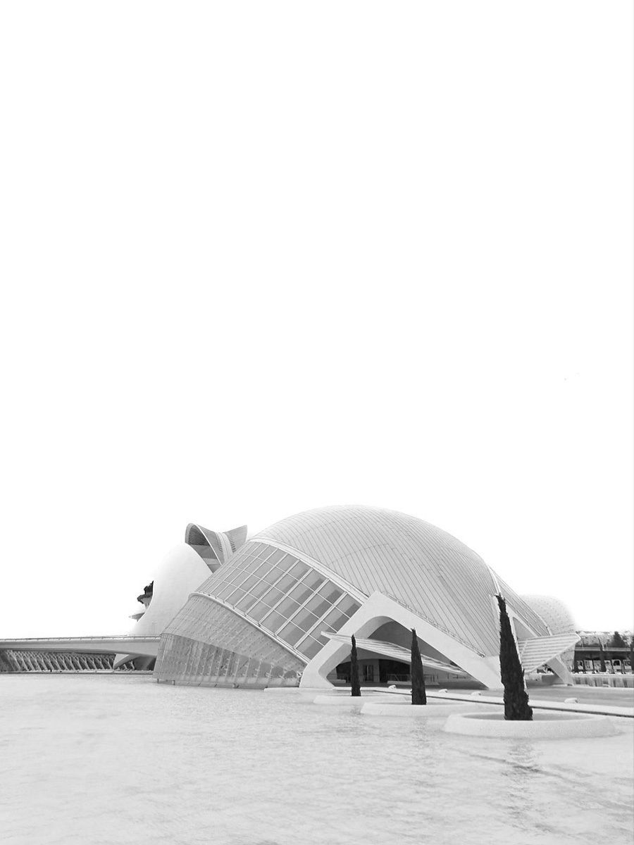 VALENCIA, SPAIN - City of Arts and Sciences.