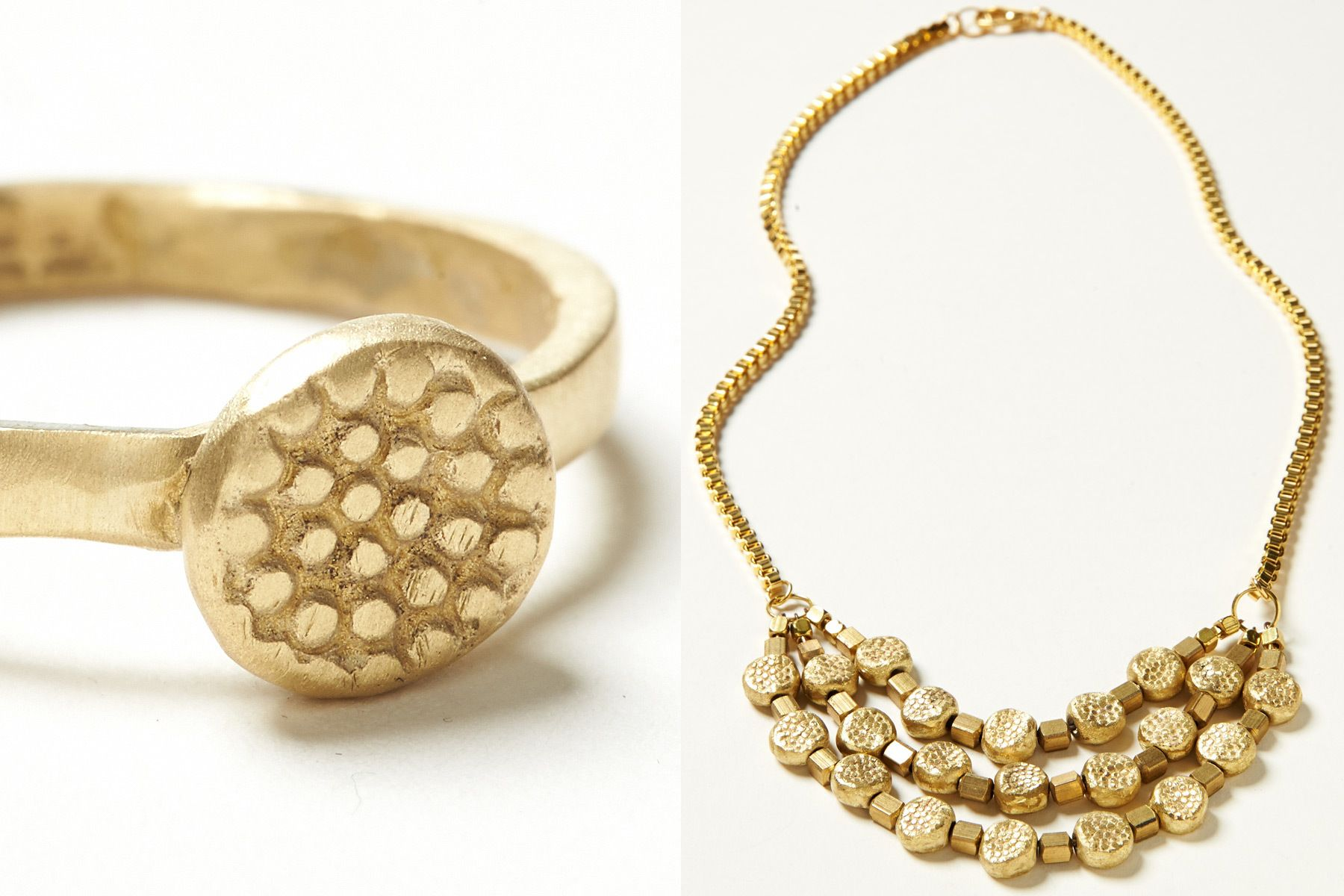 SALTY FOX - RING & NECKLACE