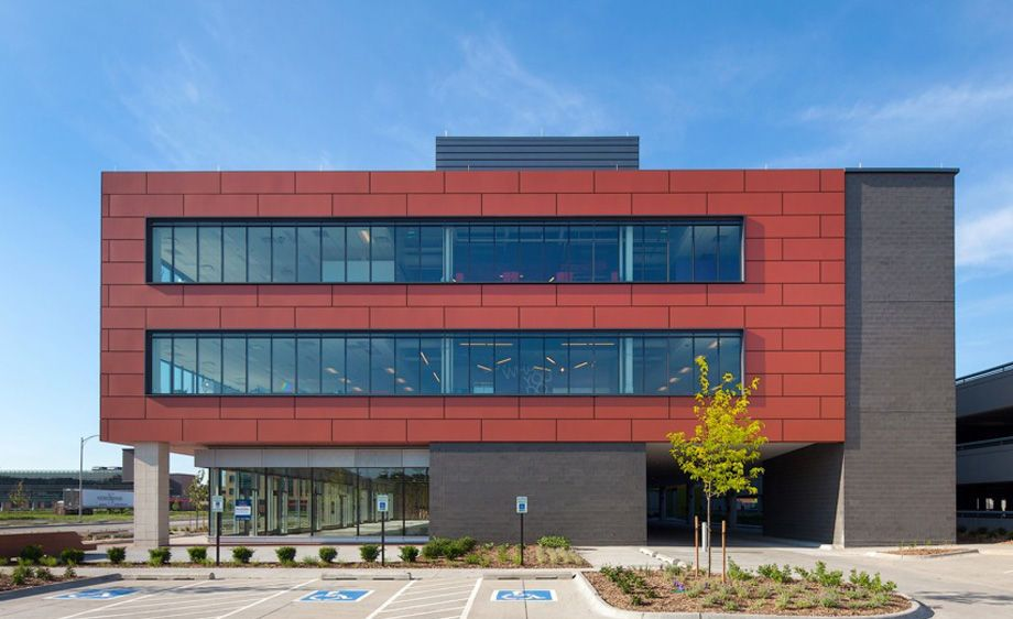 Omaha, Nebraska - Fiber Cement Rainscreen