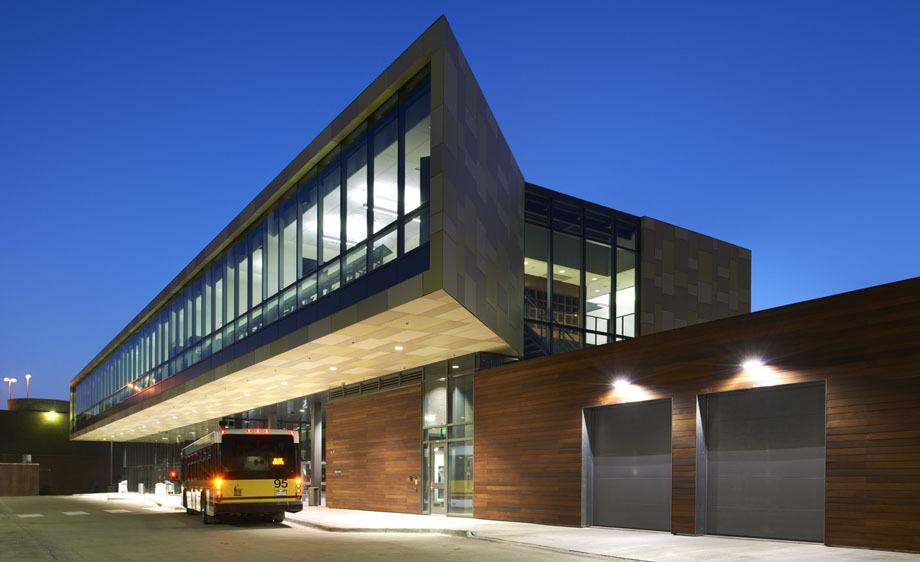 University of Iowa West Campus Transportation Center - Iowa City, Iowa
