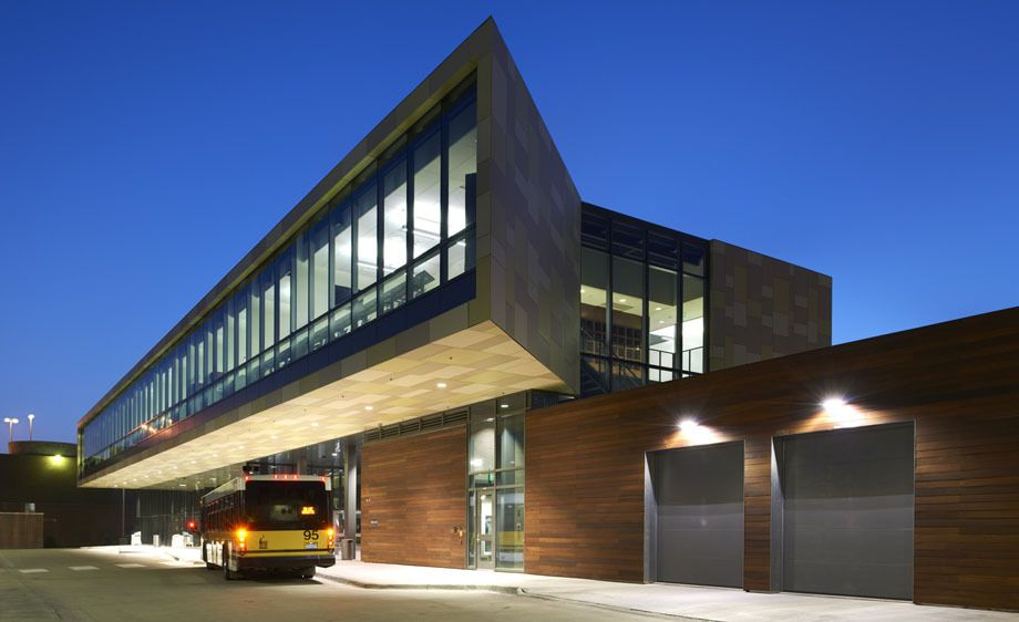 University of Iowa West Campus Transportation Center - Iowa City, Iowa