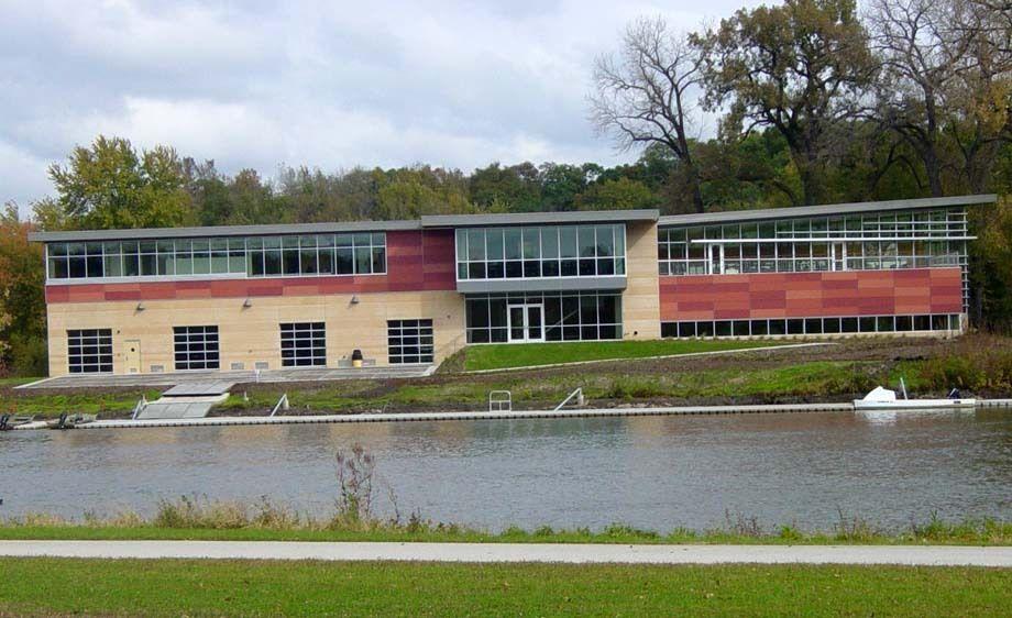 University of Iowa Boathouse