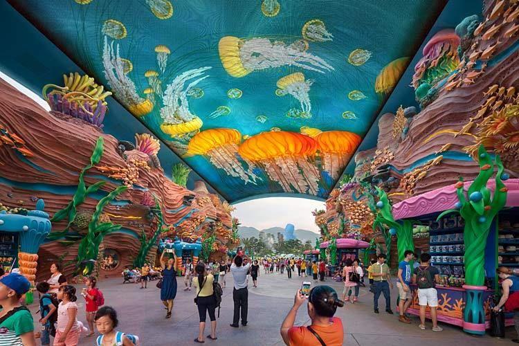 PGAV Destinations  /  Chimelong Ocean Kingdom, Zhuhai, China