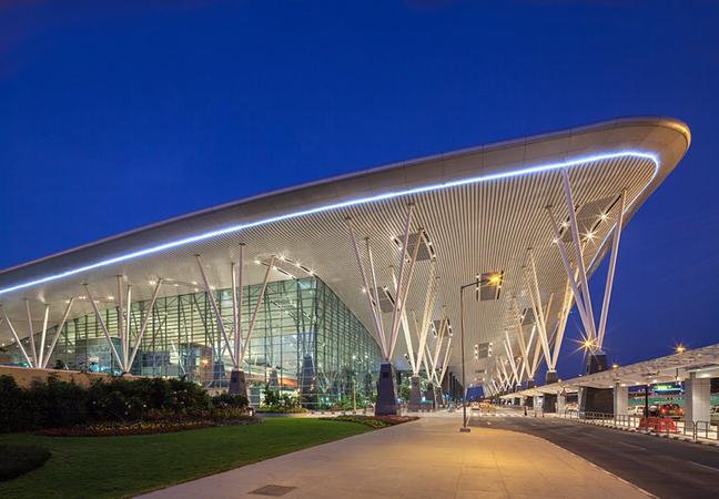 HOK  /  Bangalore Airport, India