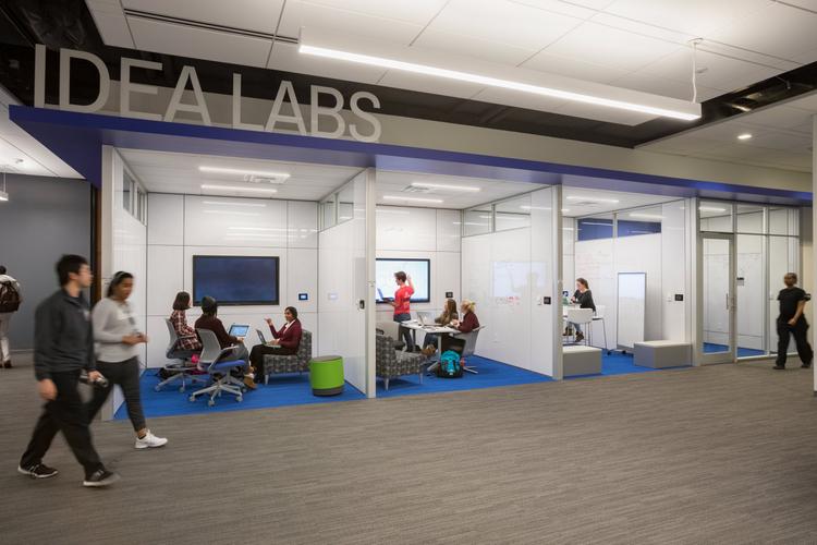 RATIO Architects  / SLU Academic Technology Commons
