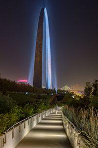 Randy Burkett Lighting Design  /  Gateway Arch grounds