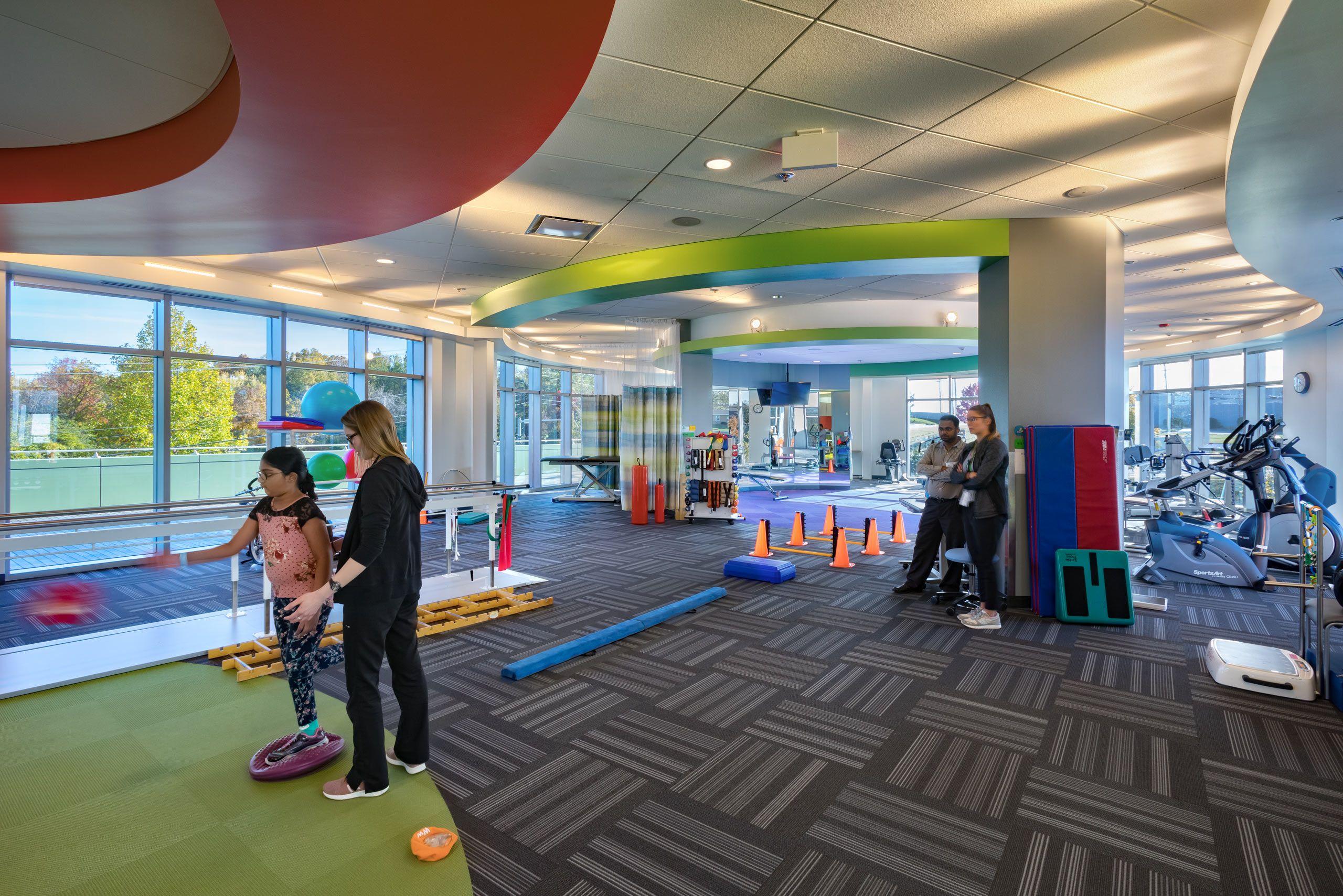 McCarthy  /  Ranken Jordan Pediatric Bridge Hospital expansion
