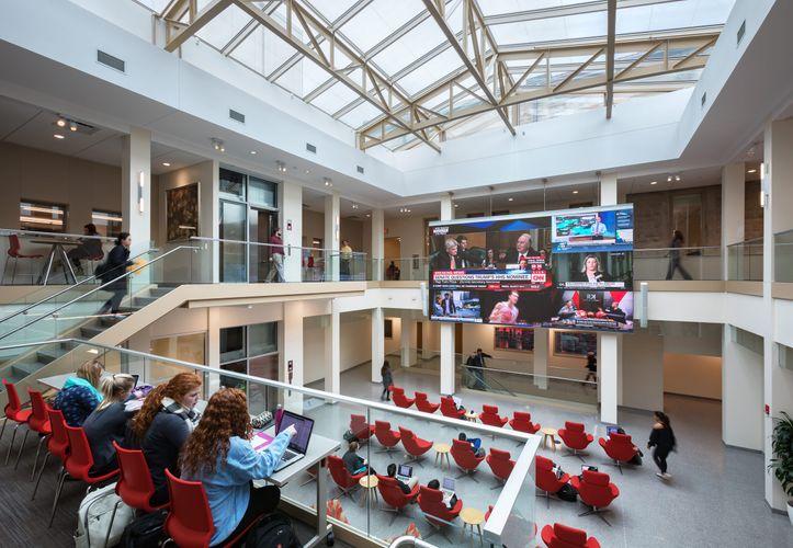 Gund  /  IU Media School, Bloomington, Indiana