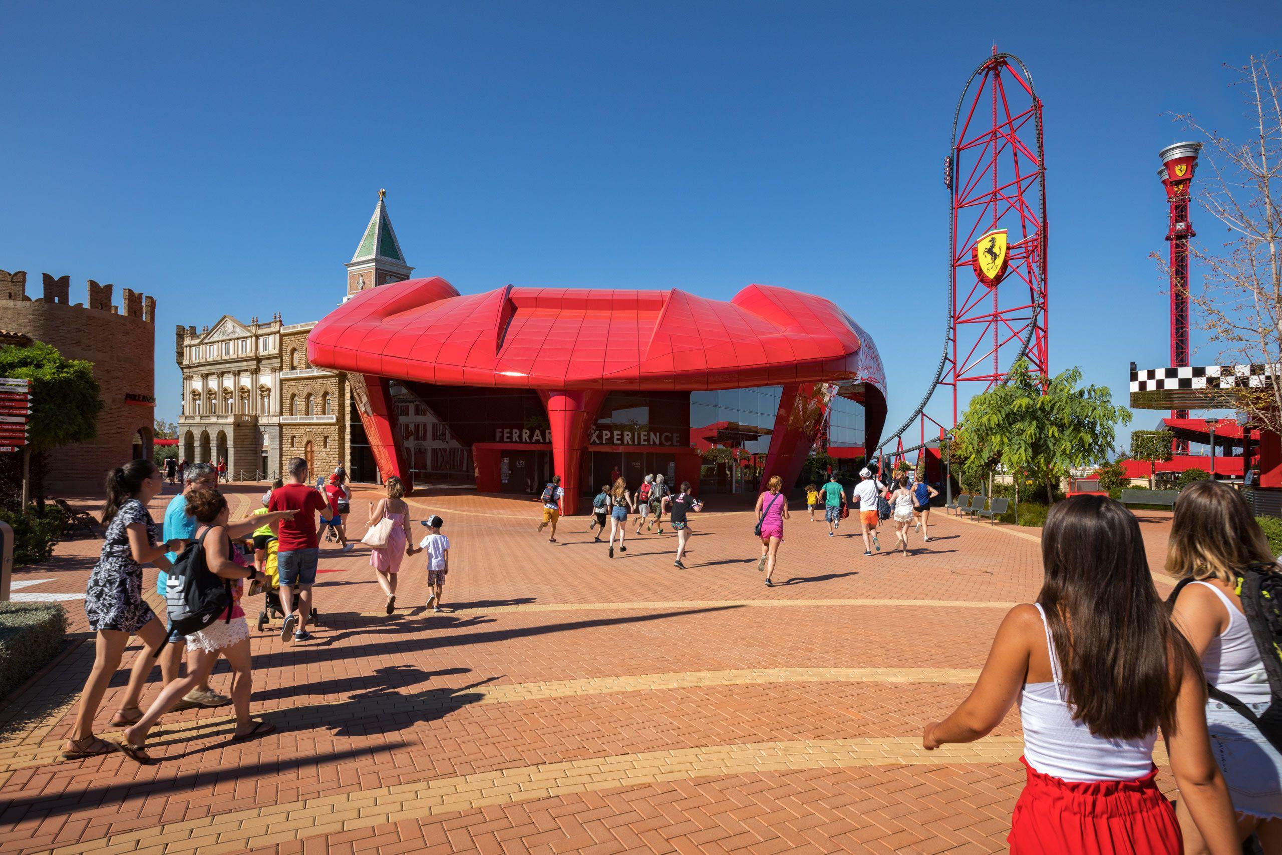 PGAV, Ferrari Land, PortAventura World, Tarragona, Spain