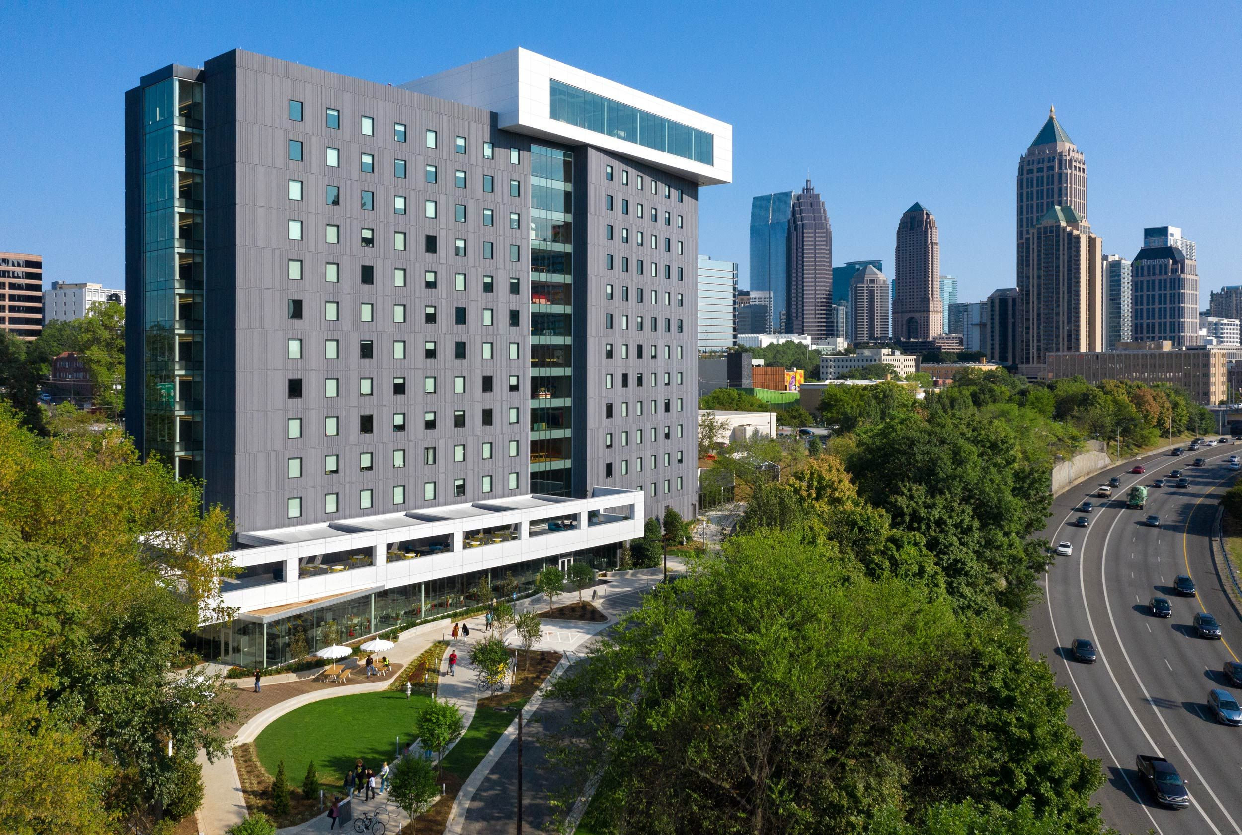 Lamar Johnson Collaborative, Mackey Mitchell, and Clayco / SCAD Forty Residence Hall, Atlanta