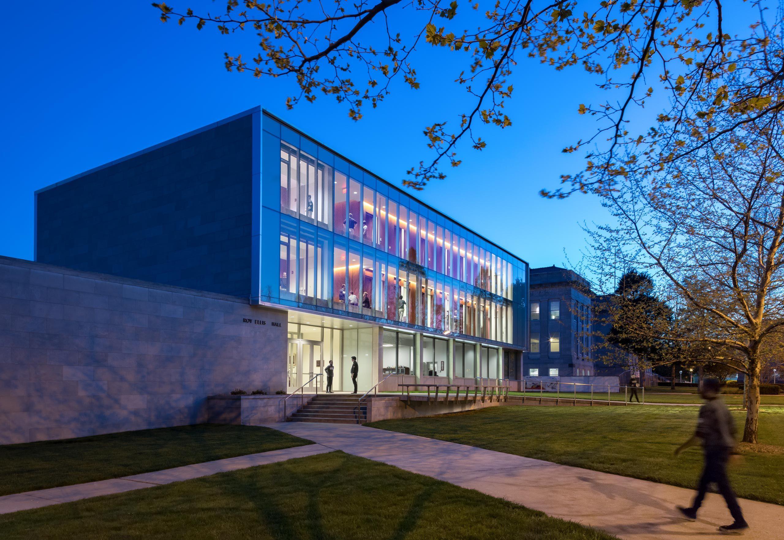 Patterhn Ives / Missouri State U. Department of Music, Ellis Hall renovation, Springfield, Missouri