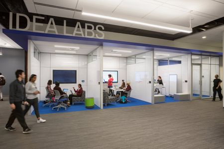 RATIO Architects  / SLU Academic Technology Commons