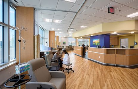 Christner Inc.  /  Barnes-Jewish St. Peters Siteman Cancer Center expansion, St. Peters, Missouri