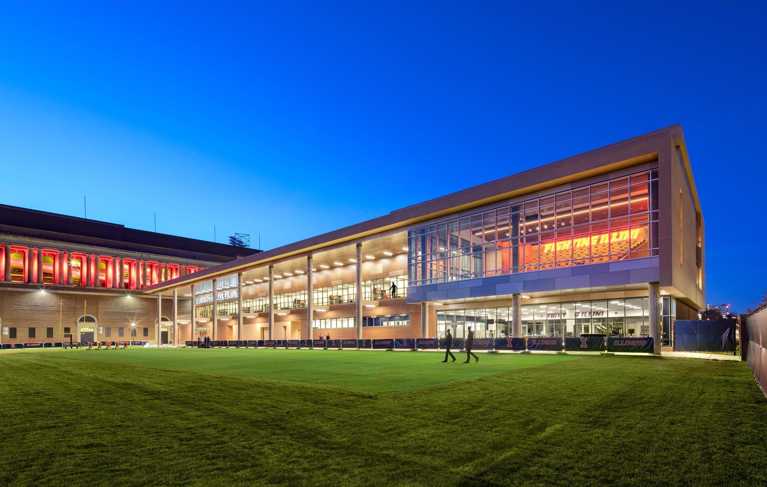 Clayco  /  Smith Football Center at University of Illinois Urbana-Champaign