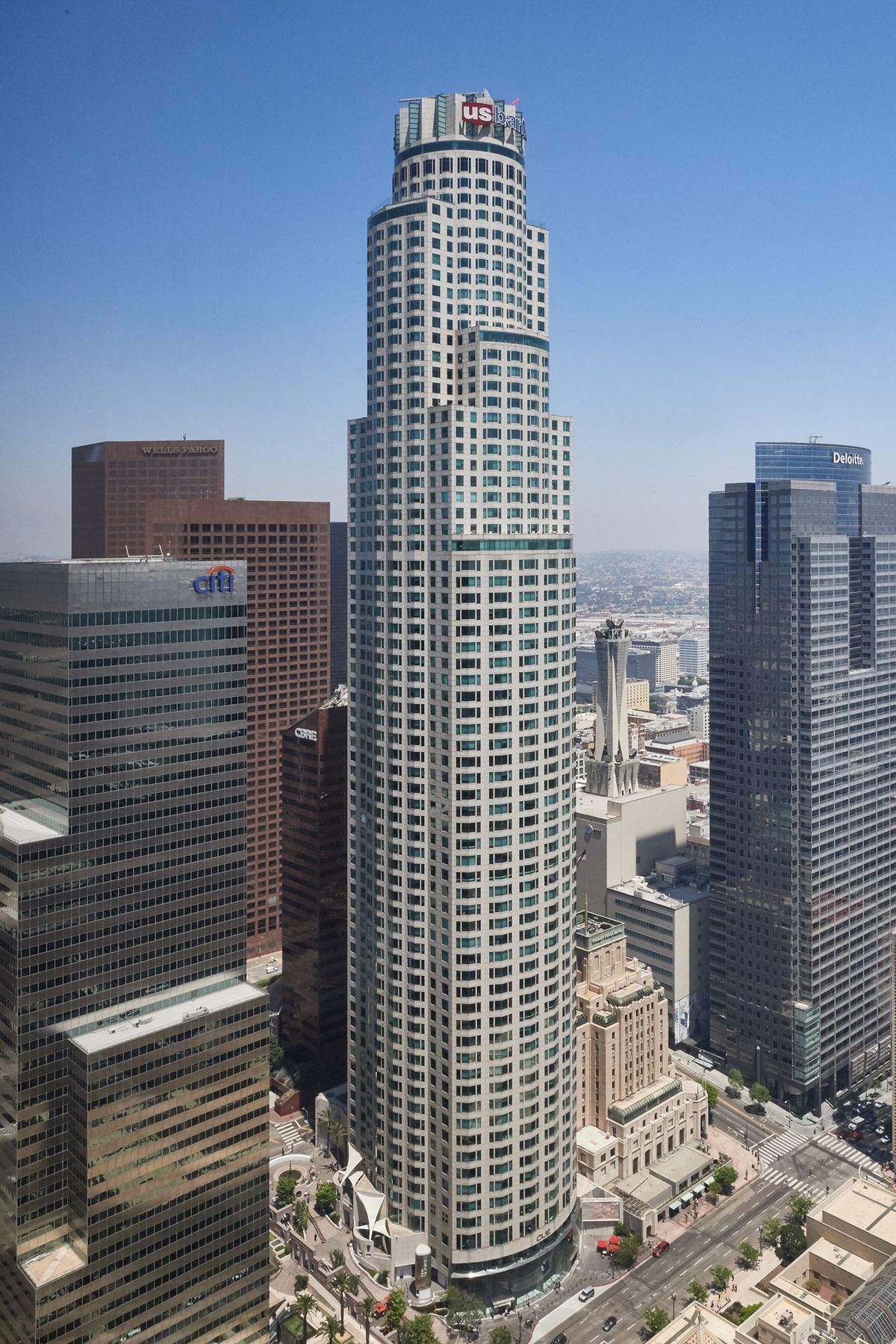 Commercial Architectural Photography Portfolio of Architectural Photographer Peter Christiansen Valli - US Bank Tower