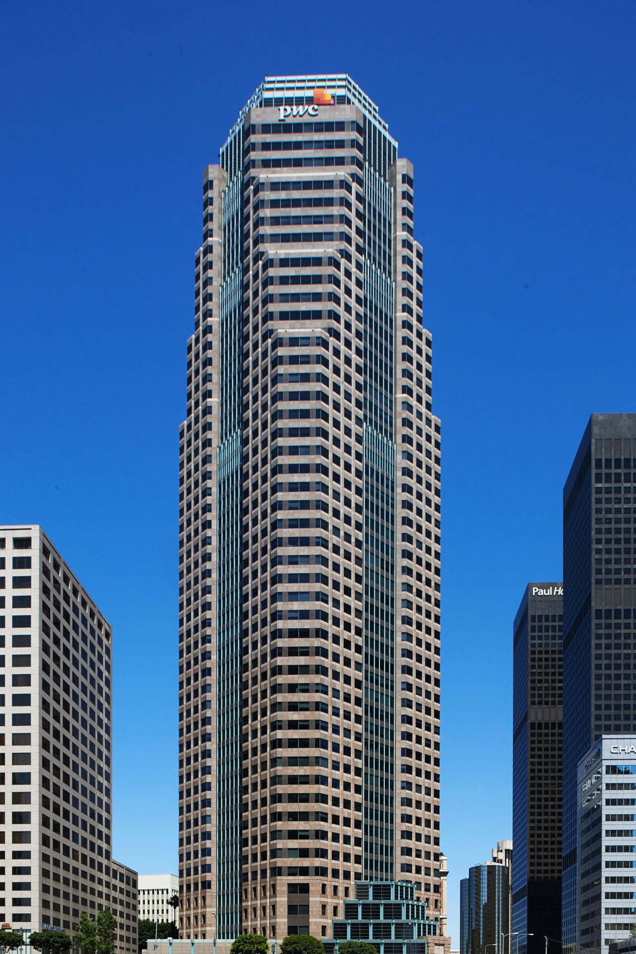 002 Commercial Architectural Photography Portfolio of Architectural Photographer Peter Christiansen Valli - PWC Tower, Los Angeles.jpg