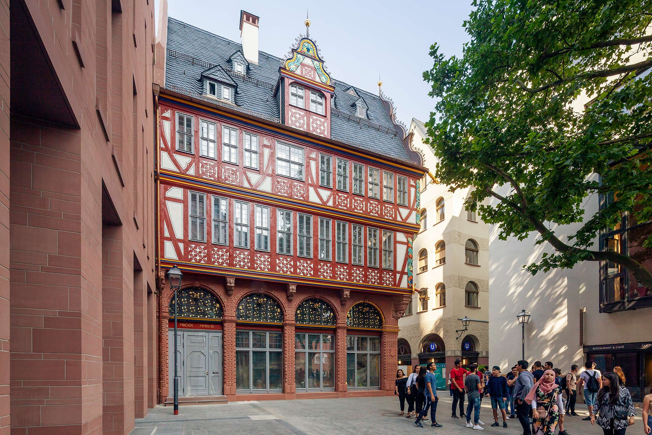 Dom Römer Areal, Frankfurt 2018