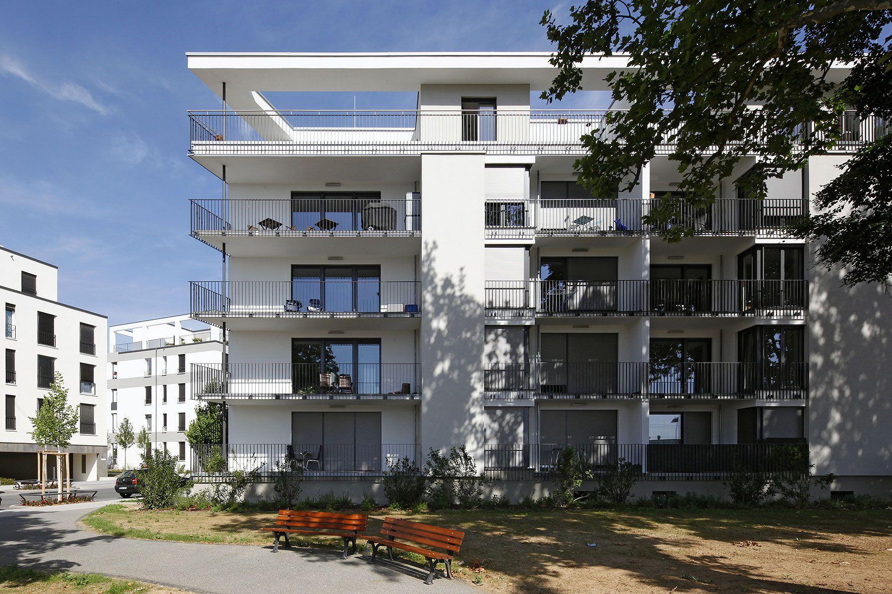 Wohnanlage Belair, Frankfurt am Main 2014