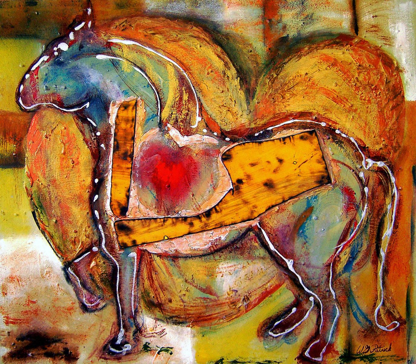Horse lovers Painting, WG Patrick