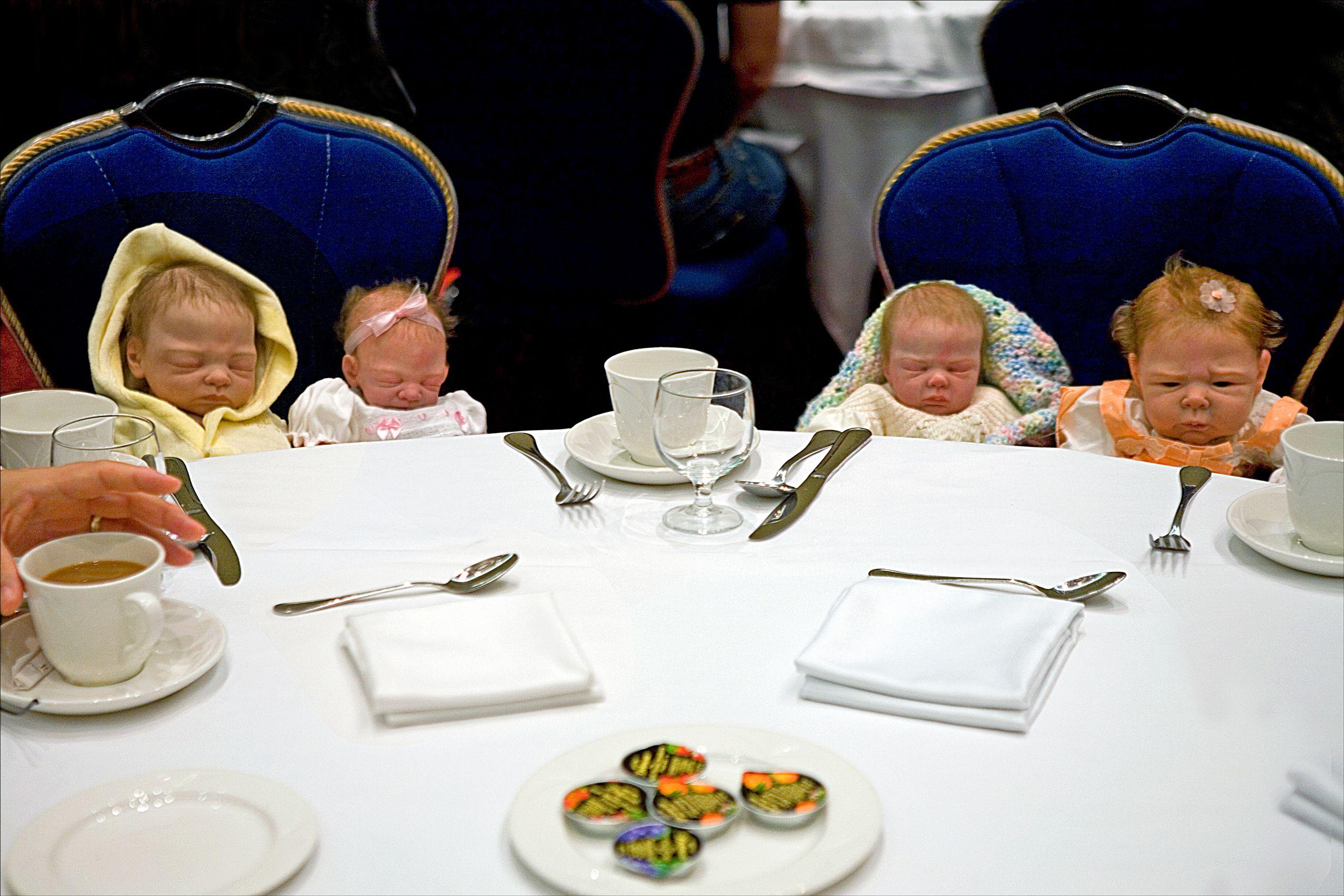 Babies at Brunch