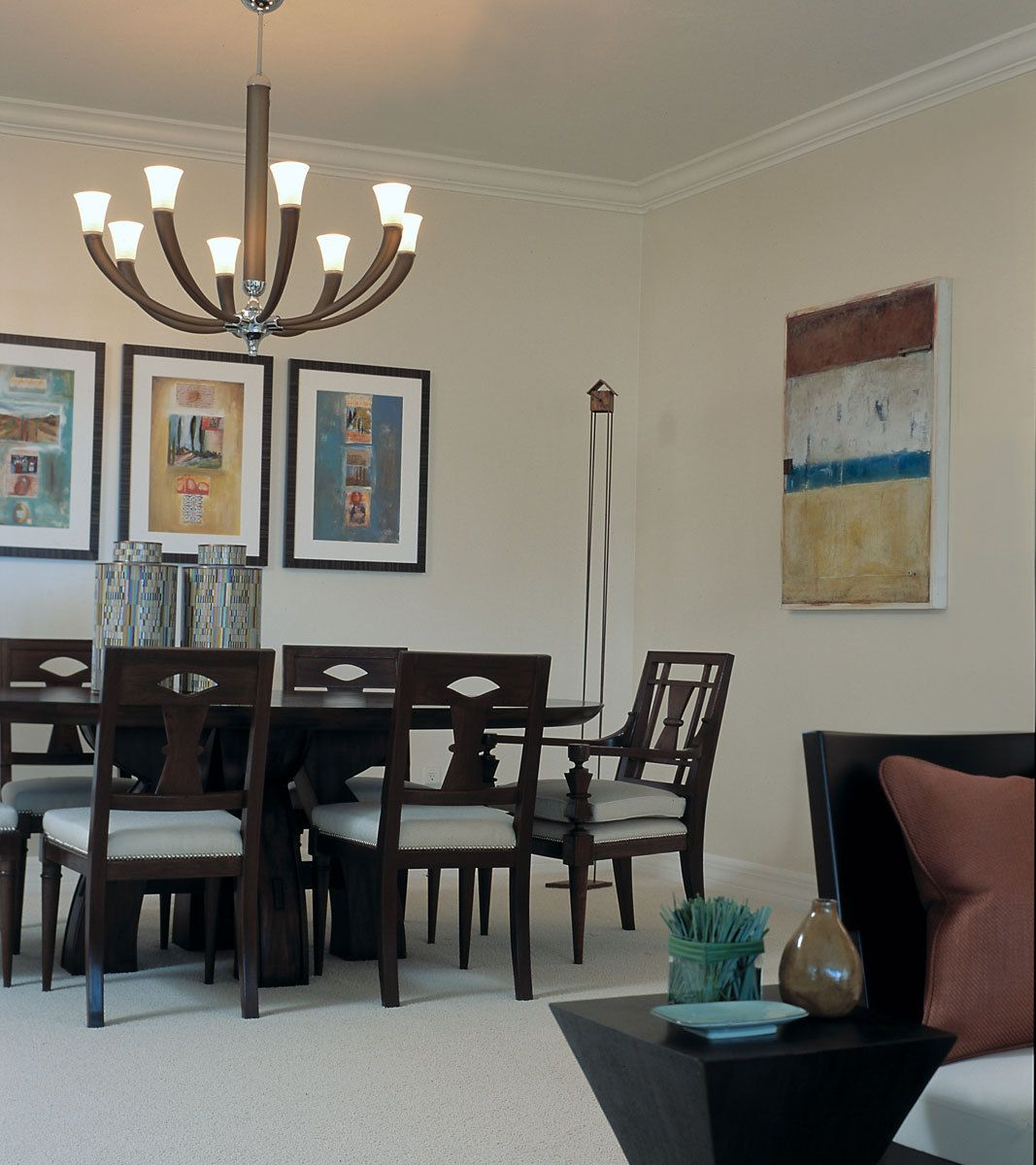 Contemporary, Dining Room