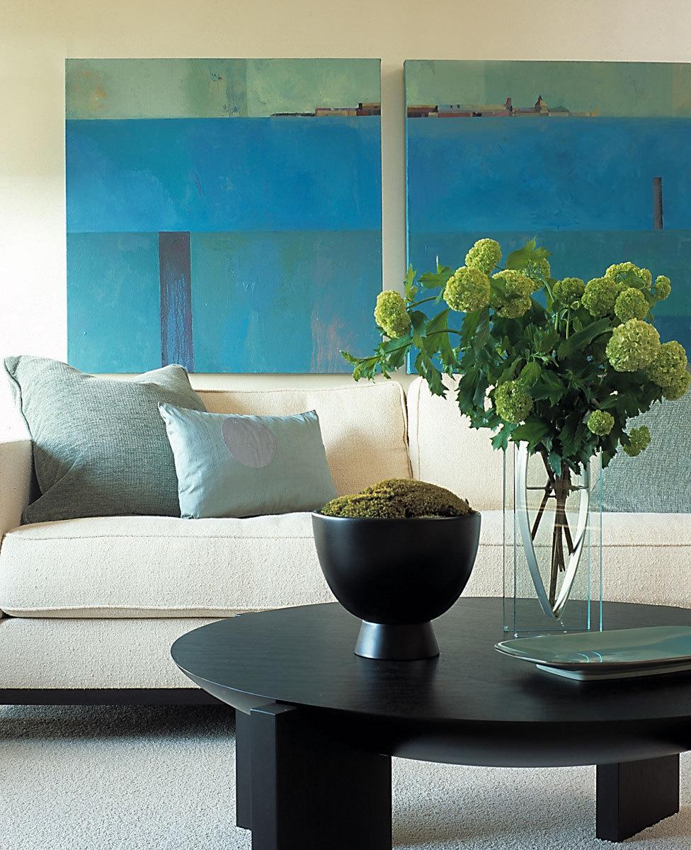 Contemporary, Living Room