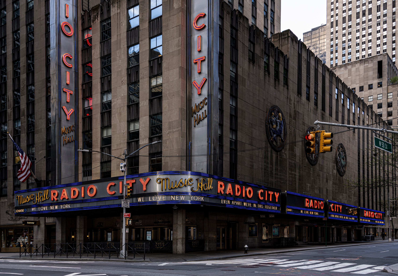 Radio City Music Hall 4:25pm