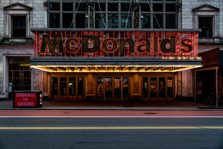 McDonalds W42nd St. 5:37pm