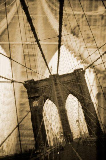 Brooklyn Bridge Collage