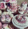 Fake cake, pastries detail -  Bergdorf Goodman, NYC