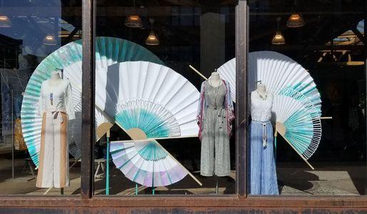 Paper Fan Window