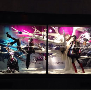 one of the 57th st windows for BG Christmas 2014