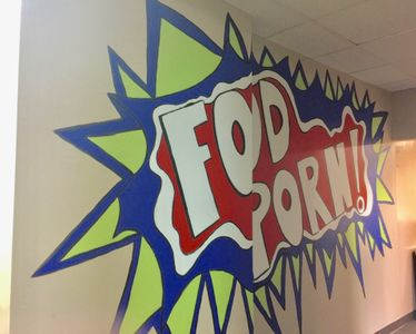 Mural for Atlanta Eats corporate office