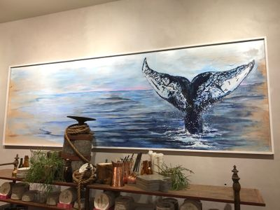 Finished whale